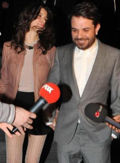 Beren Saat and Husband