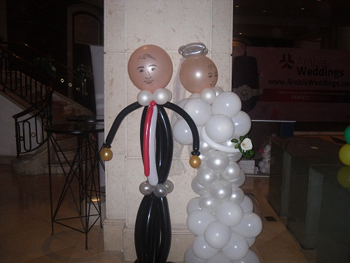 Bride and Groom Baloons