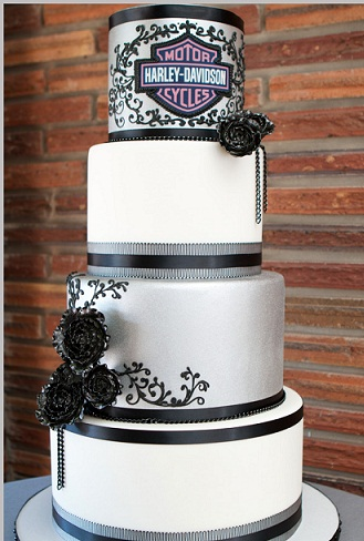 Harley Davidson Wedding Cakes | Arabia Weddings
