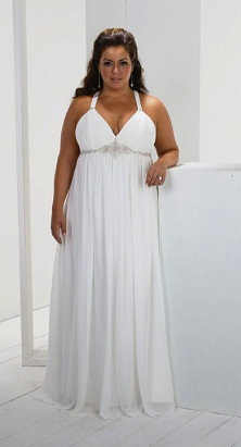 An Empire Waist Dress Will Not Make You Look Thinner Or Hide Anything It Only Shapeless And Heave At The Top