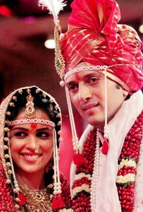 Ritesh And Genelia Got Married Arabia Weddings