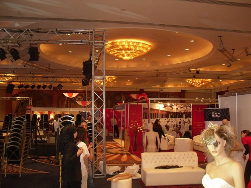 The Wedding Show Preparations