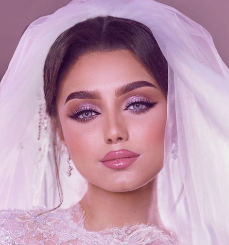 Beautiful Arab Bridal Makeup Arabia