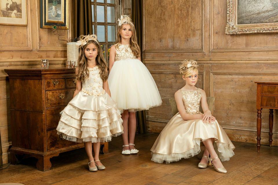 Michelle bray flower girl dresses arabia weddings for Matching wedding and flower girl dresses
