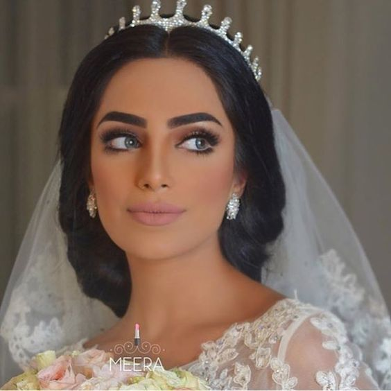 Arabic Hairstyles For Weddings: Arabic Inspired Makeup Looks