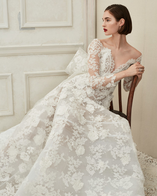 Oscar De La Renta Fall 2019 Wedding Dresses