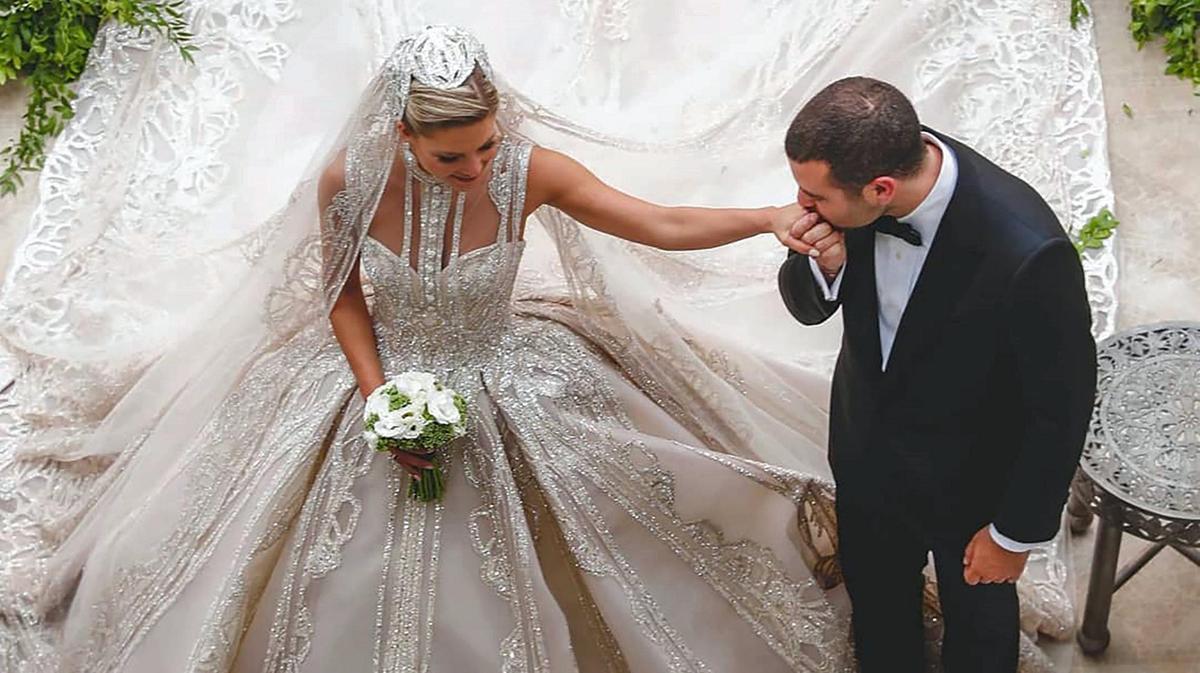 Elie Saab Jr and Christina Mourad's Luxury Wedding   Arabia Weddings