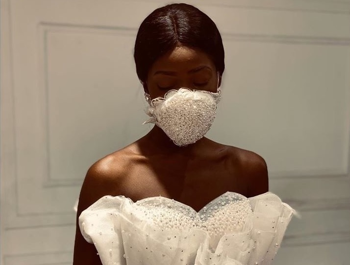 Egyptian Fashion Designer Releases Bridal Face Mask Arabia Weddings