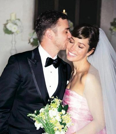 Jessica Biel Justin Timberlake Wedding