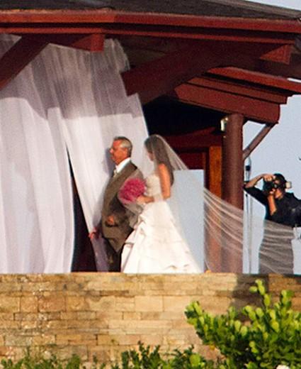 Nick Lachey and Vanessa Minnillo's Wedding - Arabia Weddings