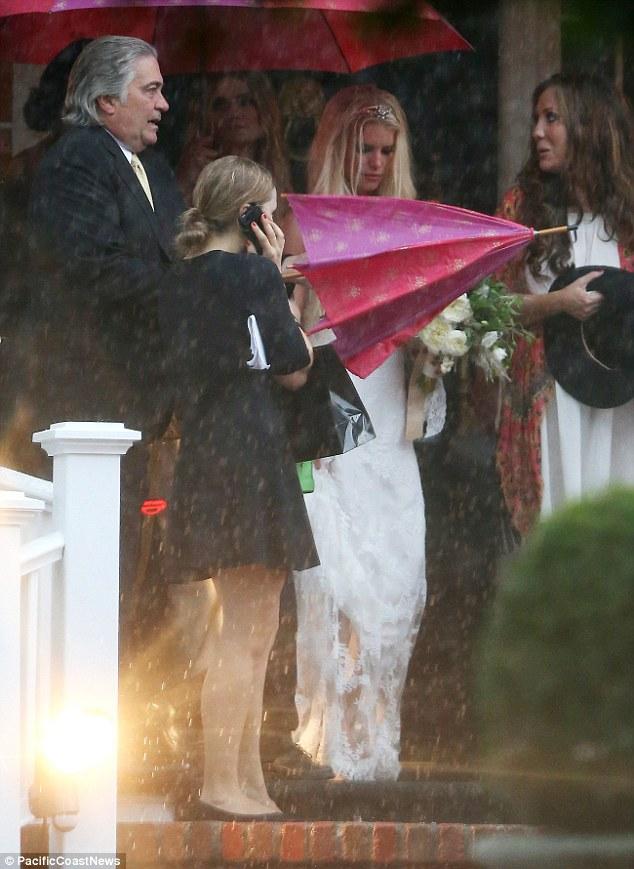 Ashlee Simpson And Evan Ross Wedding