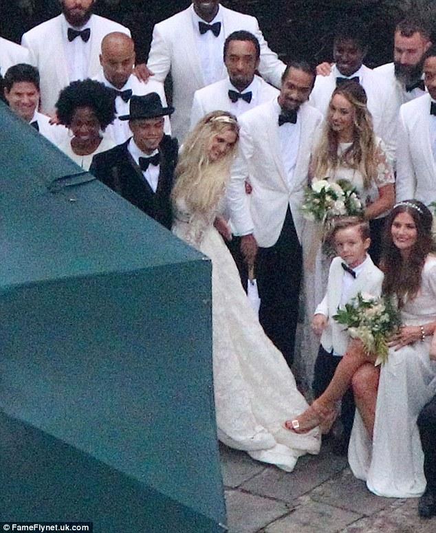 Evan ross and ashlee simpson wedding