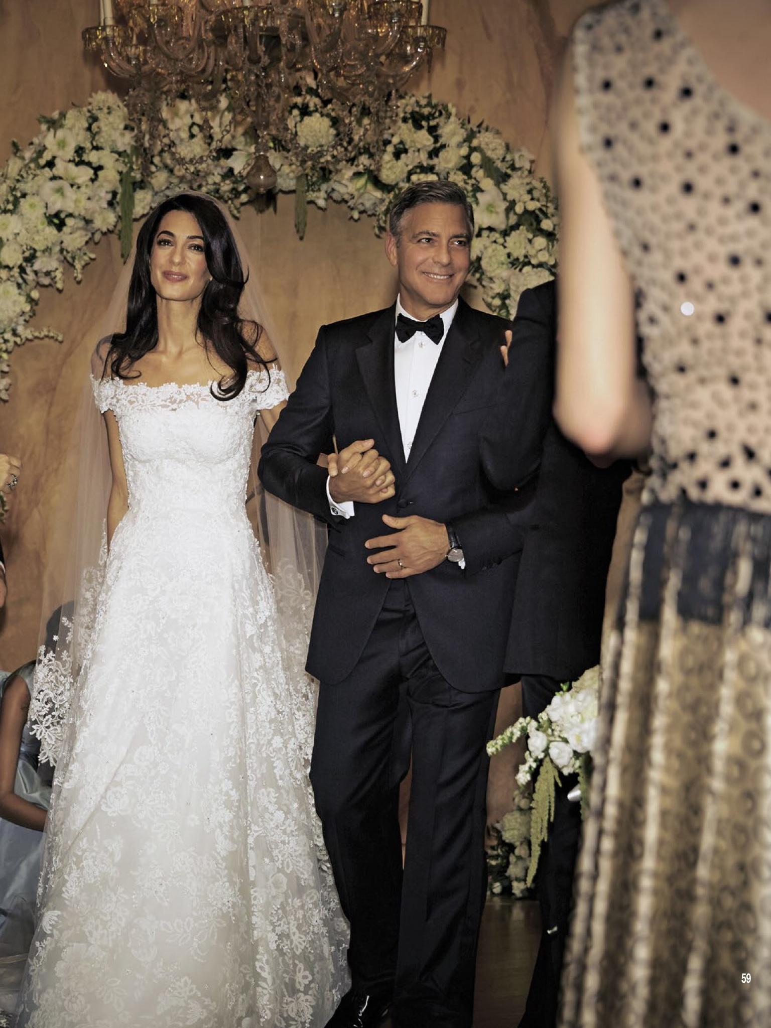 Джордж клуни и амаль аламуддин фото со свадьбы