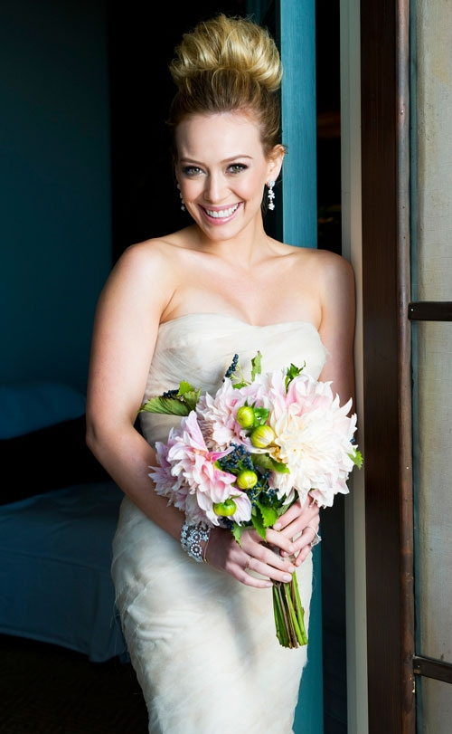 Hilary Duff and Mike Comrie\'s Wedding - Arabia Weddings