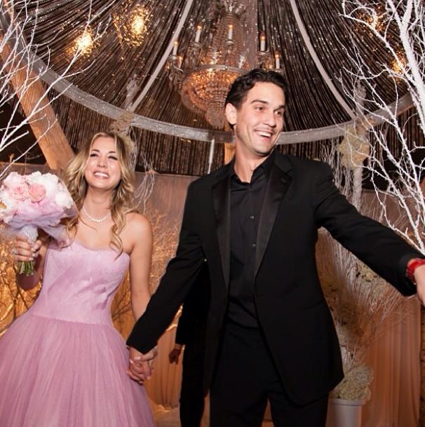 47+ Kaley Cuoco Wedding Pics