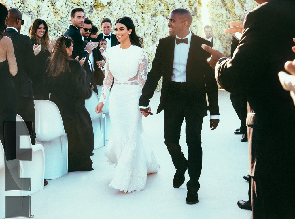 Kim Kardashian And Kanye West S Wedding