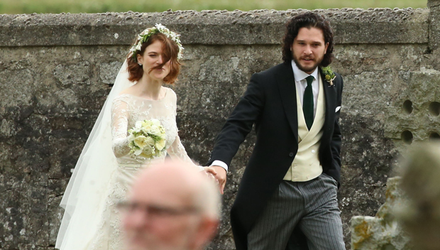 Kit Harington And Rose Leslie's Wedding