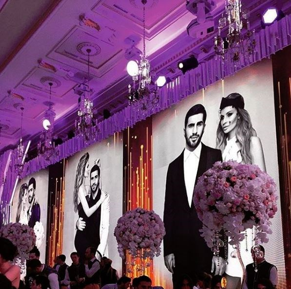 Russian Billionaire Wedding Arabia Weddings