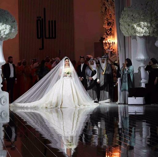 Real Weddings Polignano: Sheikha Sarah Al Sabah Of Kuwait Wedding Pictures