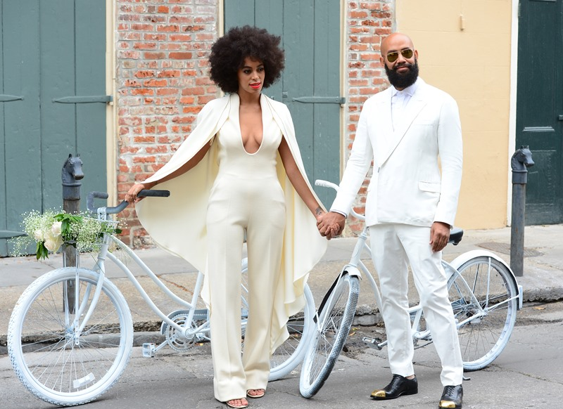 Solange Knowles And Alan Ferguson's Wedding