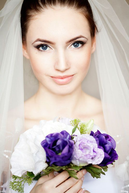 Simple Makeup In Wedding : Soft and Natural Bridal Makeup Looks - Arabia Weddings