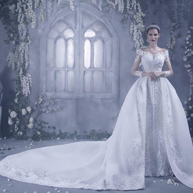 Dar sara 2016 bridal collection arabia weddings for Helen miller wedding dresses