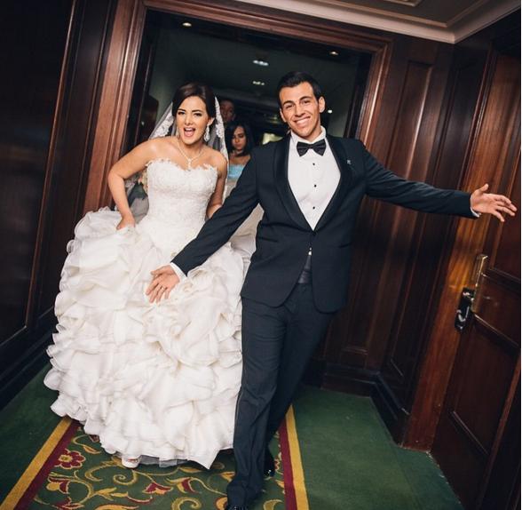 Video From Donia Samir Ghanems Wedding