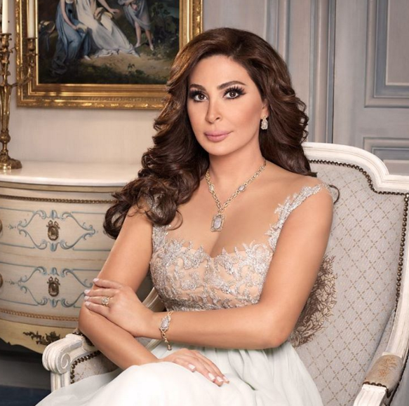 Elissa Shares Picture In Wedding Dress Arabia Weddings