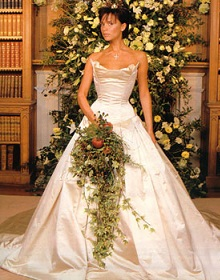 The Iconic Celebrity Wedding Dresses of All Time Arabia Weddings
