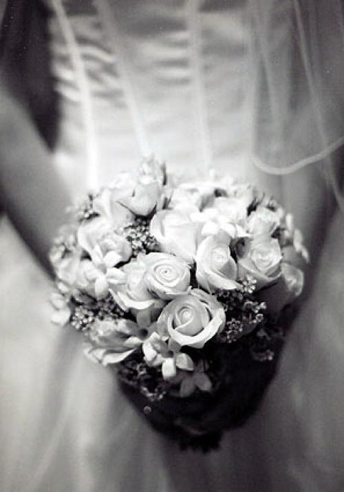 Black and White Wedding 1