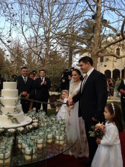 Princess Iman and Zaid Mirza Wedding