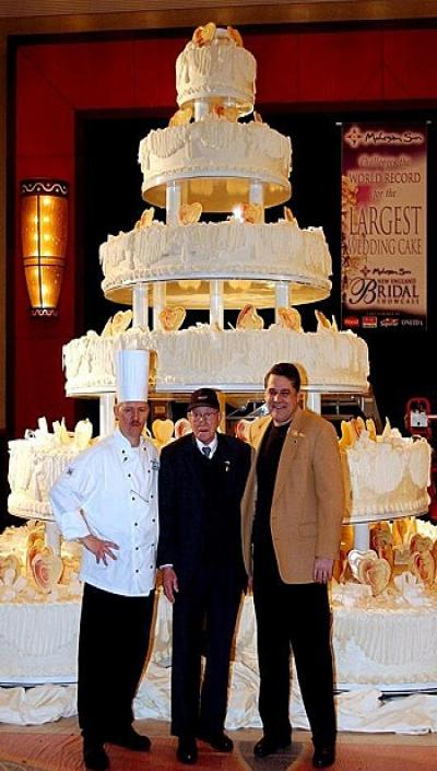 world record most expensive wedding cake guinness world record weddings arabia weddings 27626