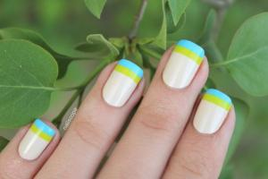 double_french_manicure_yellow_and_blue