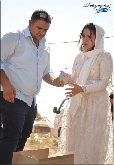 iraqi_couple_donates_to_refugees_on_wedding