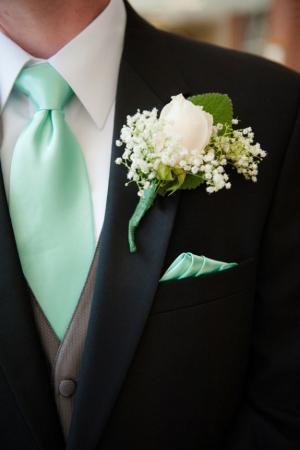 black_and_mint_groom