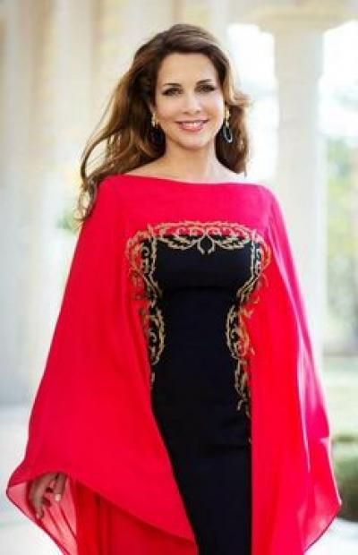 princess_haya_abaya_red_and_black