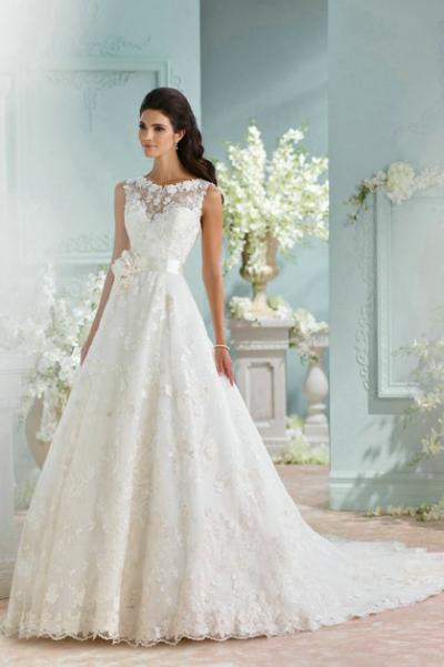 David Tutera's wedding gowns at Bridal Showroom