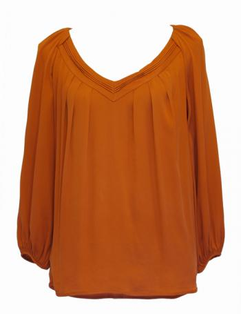 dvf-orange-top