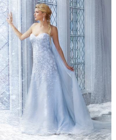 Disney Princess Wedding Dresses - Arabia Weddings