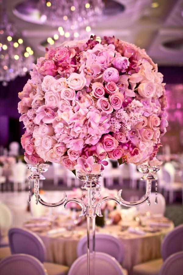 Wedding Centerpieces by carousel Events