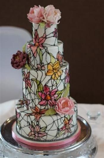 stained_glass_wedding_cake