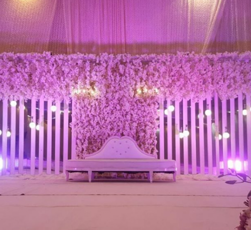 Rawah For Wedding Kosha flower shop in jeddah