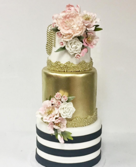 Luxury Bridal Shower Cake by Zehra done for Stephanie