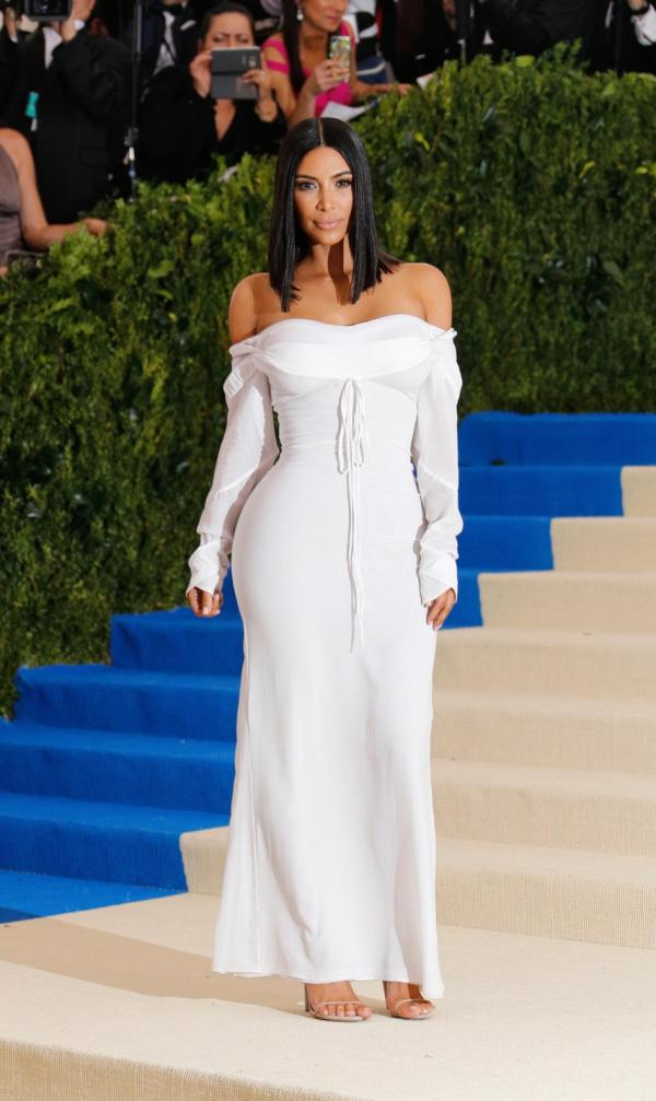 Kim Kardashian West in Vivienne Westwood at Met Gala 2017