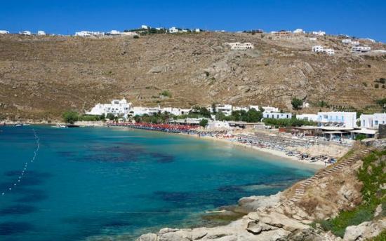 Best Island Beaches For Partying Mykonos St Barts: 5 Sandy Beaches In Mykonos Greece For A Honeymoon
