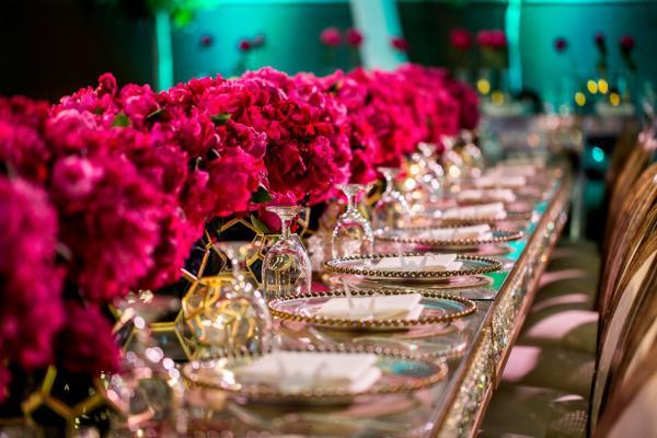 Origami Engagement Theme Arabia Weddings