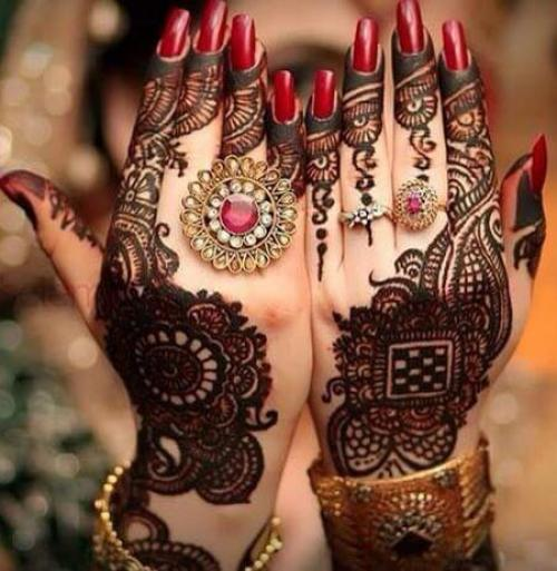 Beautiful Henna Designs For Arab And Indian Brides Arabia Weddings