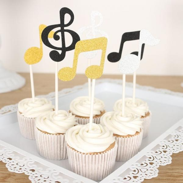 Music Cake Toppers