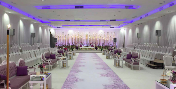 Palms Beach Hotel & Spa ballroom Kuwait wedding halls