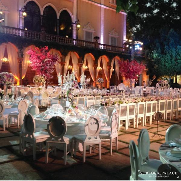 Sursuk Palace, The Gardens wedding venues in beirut